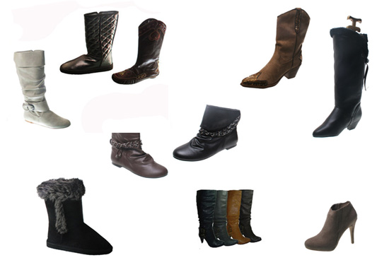 Wholesale Shoes - womens-boots-closeout -