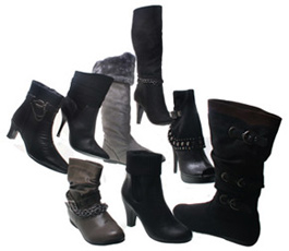 Wholesale Shoes - womens-boots-016 -