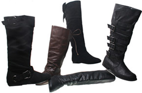 Wholesale Shoes - womens-boots-009 -