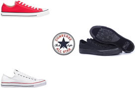 Wholesale Shoes - converse-allstars-classic-low - Sizes range from boys (3) to mens (14)