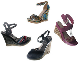Wholesale Shoes - womens-fashion-wedge-sandals -