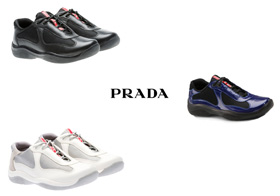 Wholesale Shoes - prada-womens-sneakers - A run sizes 5-9
